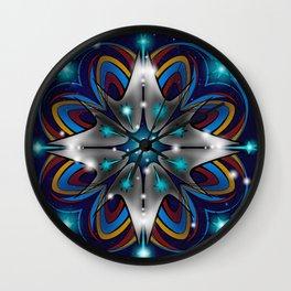 Live Long & Prosper Kaleidoscope Design Wall Clock