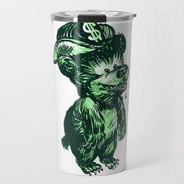The Money Bear Travel Mug