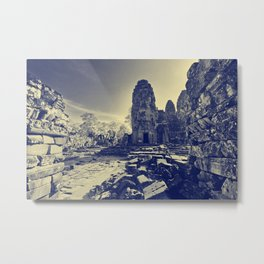 Ancient Temples Metal Print