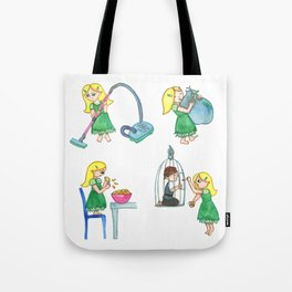Gretel Working For The Witch Tote Bag