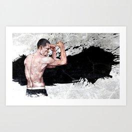 Nate Diaz Art Print
