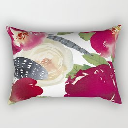 Boho Garden Rectangular Pillow