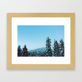 Grouse Mountain v.1 Framed Art Print
