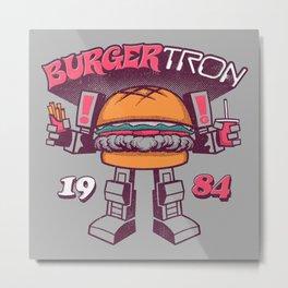 BurgerTRON '84 Metal Print