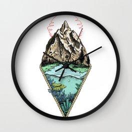 Simple origin Wall Clock