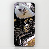 motorbike iPhone & iPod Skins featuring  Motorbike  by Scenic View Photography
