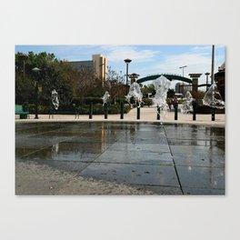 Water Jellies Canvas Print