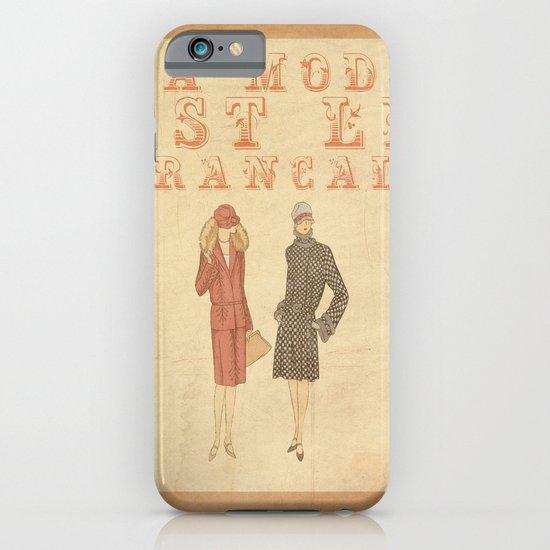 French Fashion iPhone & iPod Case