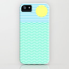 Coastline (Sunrise Blue) iPhone Case