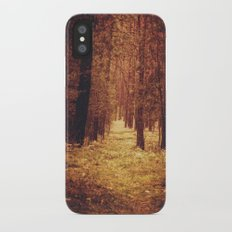 Forest Path Slim Case iPhone X