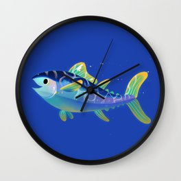 Atlantic Bluefin Tuna Wall Clock