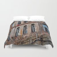 istanbul Duvet Covers featuring Istanbul by cArt