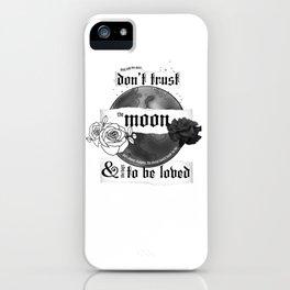 Good Mourning Lyrics iPhone Case