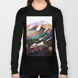 Abstract Mountains II Long Sleeve T-shirt