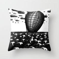 Sea Balloon Throw Pillow