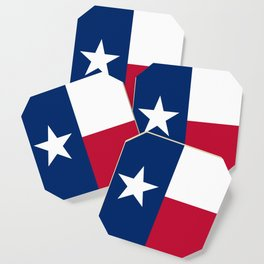 State flag of Texas Coaster