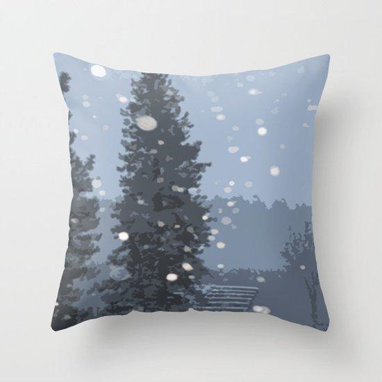 Arrowhead Blizzard Throw Pillow