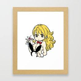 After Bunny Framed Art Print