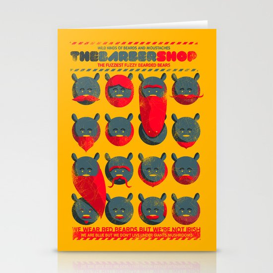The Barber Shop Stationery Cards