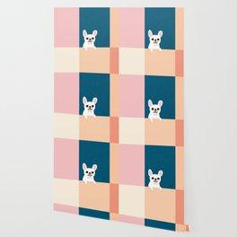 Little_French_Bulldog_Love_Minimalism_001 Wallpaper