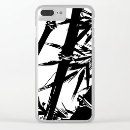 Japanese Bamboo Clear iPhone Case