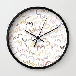 Little Boobies Wall Clock