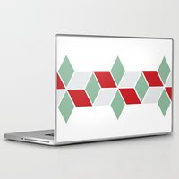 sweater Laptop & iPad Skins featuring Winter Sweater by INDUR