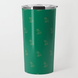 Classic Owl - Grass Travel Mug