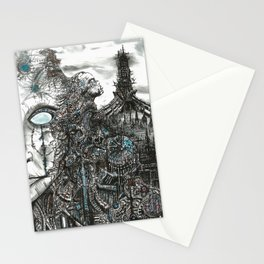Cybertopia Stationery Cards