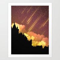Bright Skies Over Dark Times Art Print