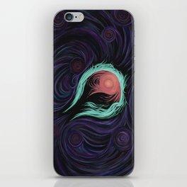 Green Ring Nebula iPhone Skin