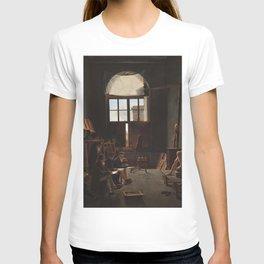 Léon Matthieu Cochereau - The Studio of Jacques-Louis David T-shirt