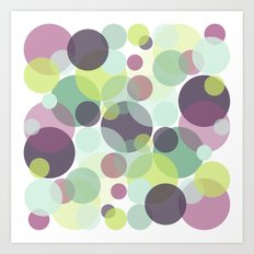 Candy Dots Art Print