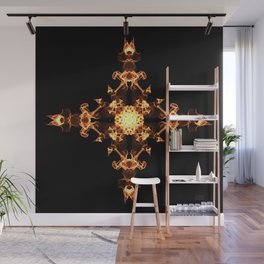 Fire Cross Wall Mural