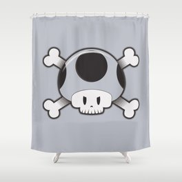 Toad Skull Shower Curtain