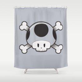 Toad Skull Shower Curtain