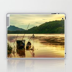 Sunset over the Mekong River Laptop & iPad Skin