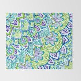 Sharpie Doodle 2 Throw Blanket
