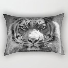 The eye of the tiger II (vintage) Rectangular Pillow