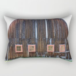 Big Ole Barn Rectangular Pillow