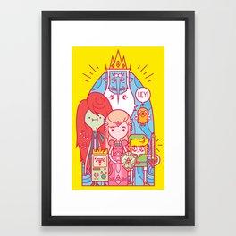 The Legend of Adventure Framed Art Print