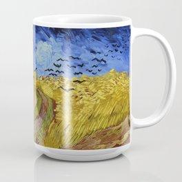Van Gogh Wheatfield with Crows Coffee Mug