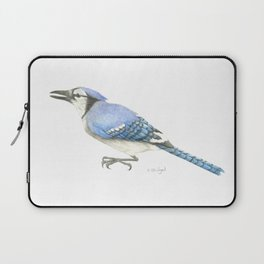 Blue Jay Study in Colored Pencils Laptop Sleeve
