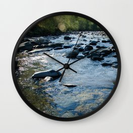 Molalla River Wall Clock