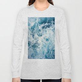 Rough Sea - Ocean Photography Long Sleeve T-shirt