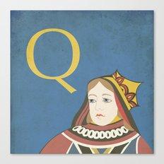 Q. Canvas Print