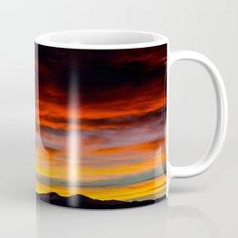Fire Sunset Coffee Mug