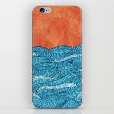 The Blue Sea iPhone & iPod Skin