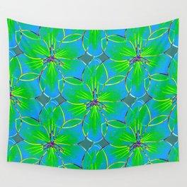 Flower Sketch 5 Wall Tapestry