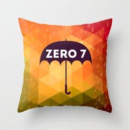 Zero 7 Poster - Sia Furler Mozez Jose Gonzalez Umbrella Print Rain Throw Pillow